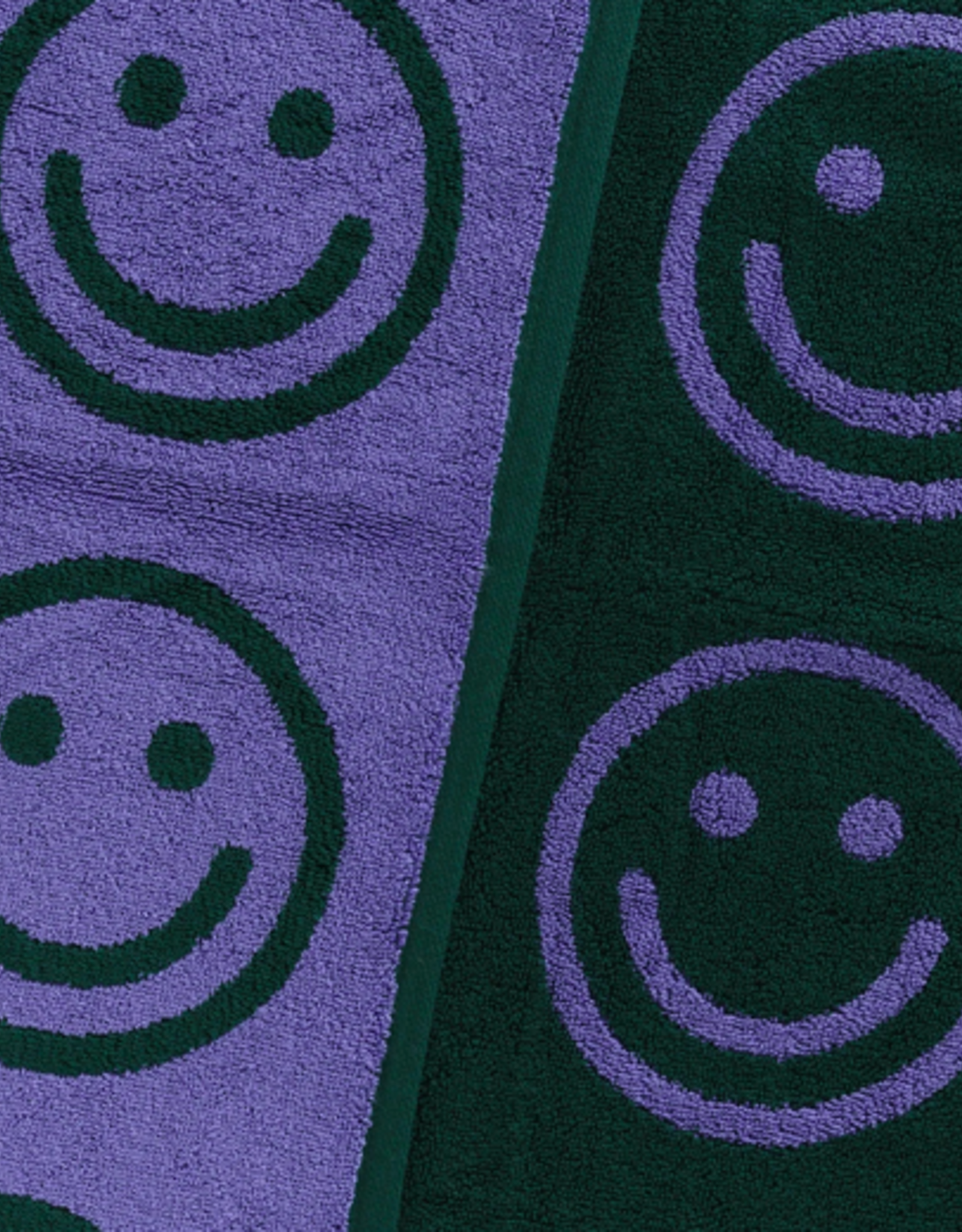 Baggu Bath towel evergreen happy