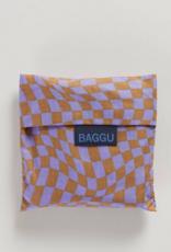 Baggu Reusable bag Lavender trippy checker