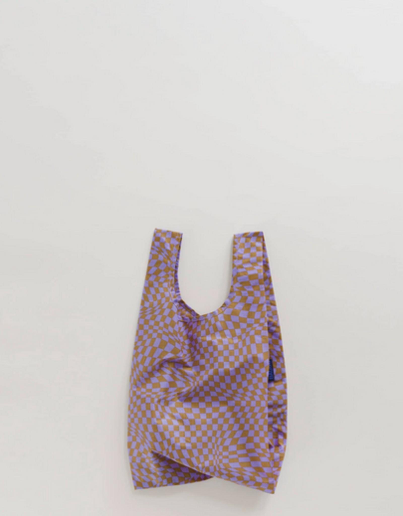 Baggu Baby reusable bag lavender trippy checker