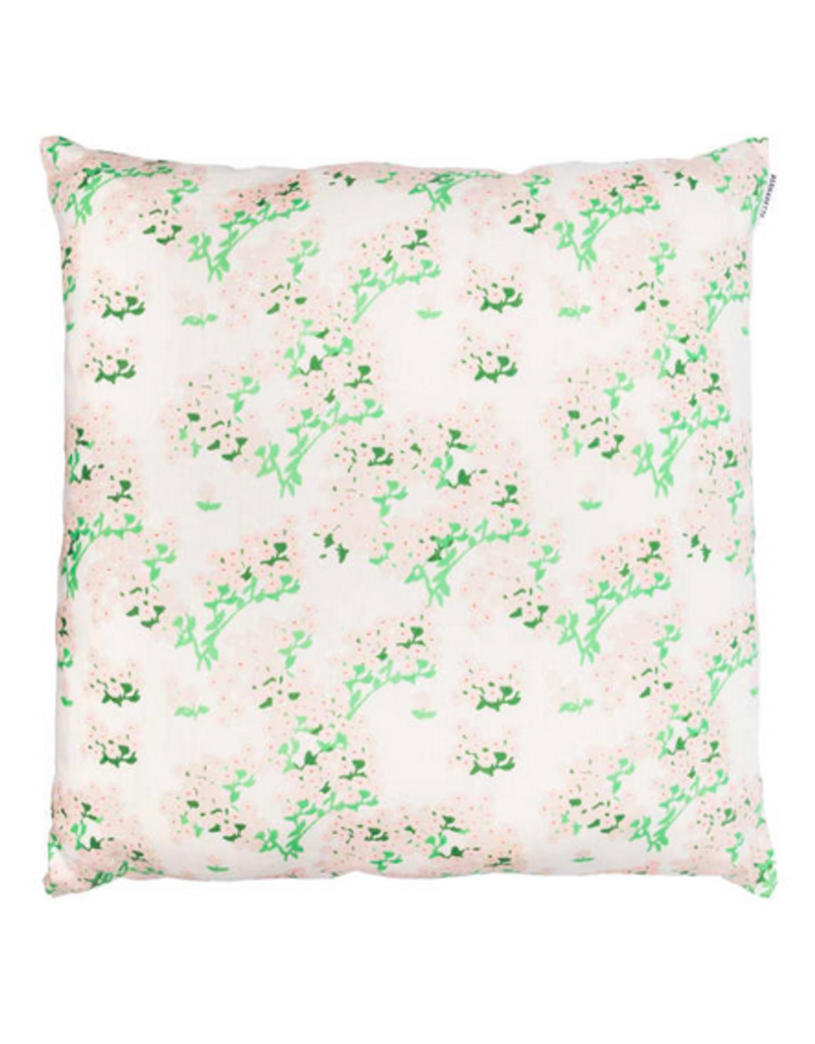 Bernadette Bernadette Floral cushion large 65x65cm - romantic cream