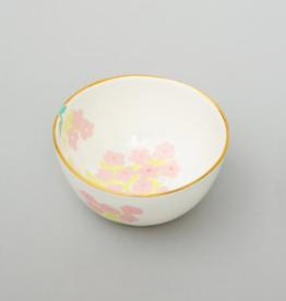 Bernadette Bernadette small round high bowl romantic cream