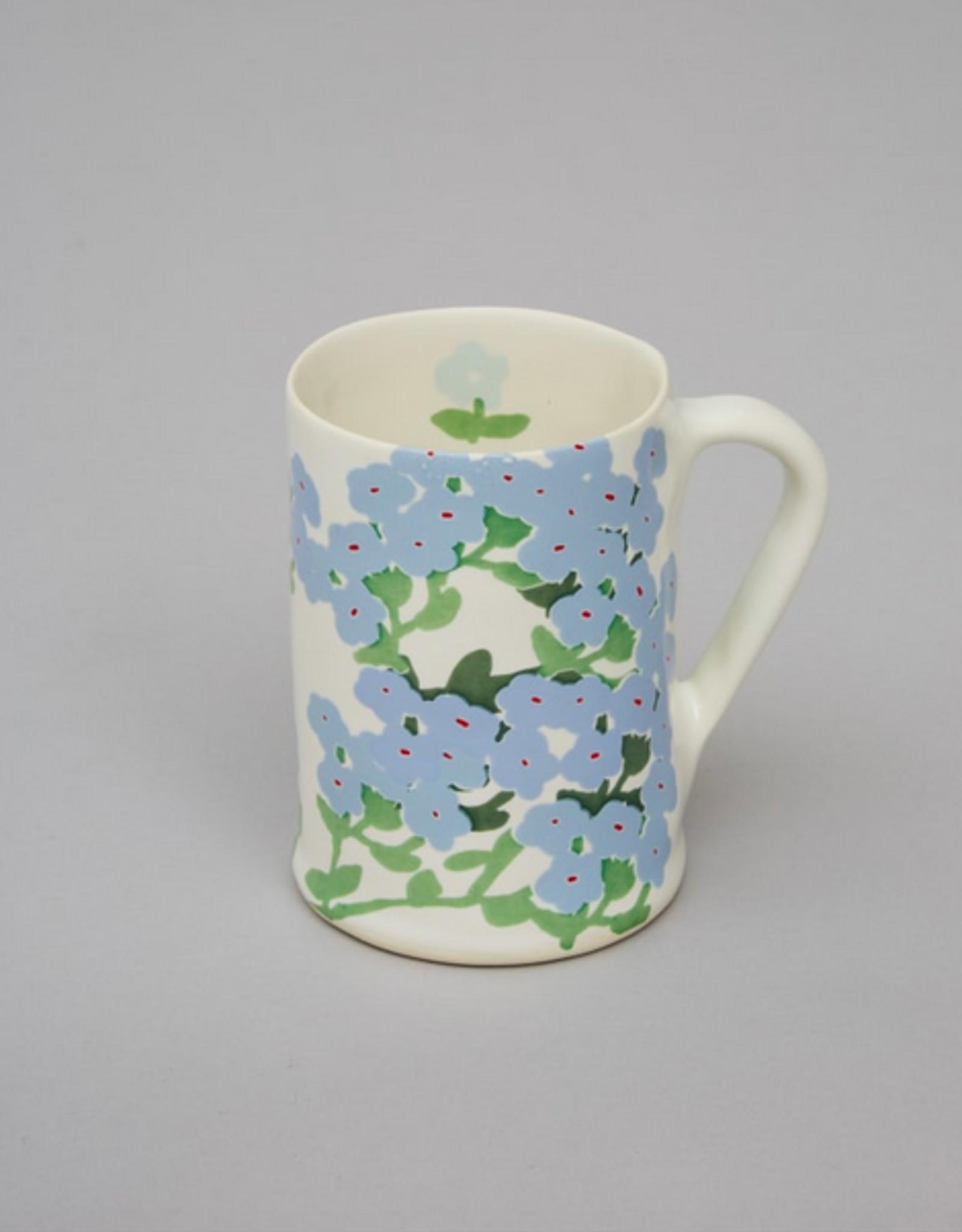 Bernadette Bernadette wide mug blue hortensia