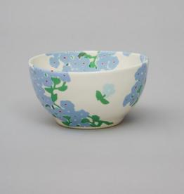 Bernadette Bernadetta Small round high bowl blue hortensia