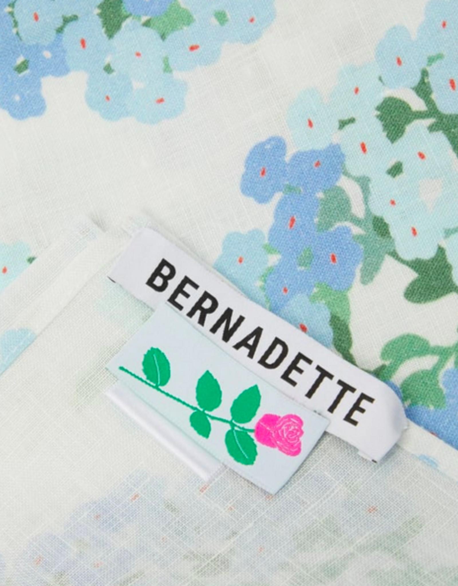 Bernadette Bernadette Tablecloth blue hortensia
