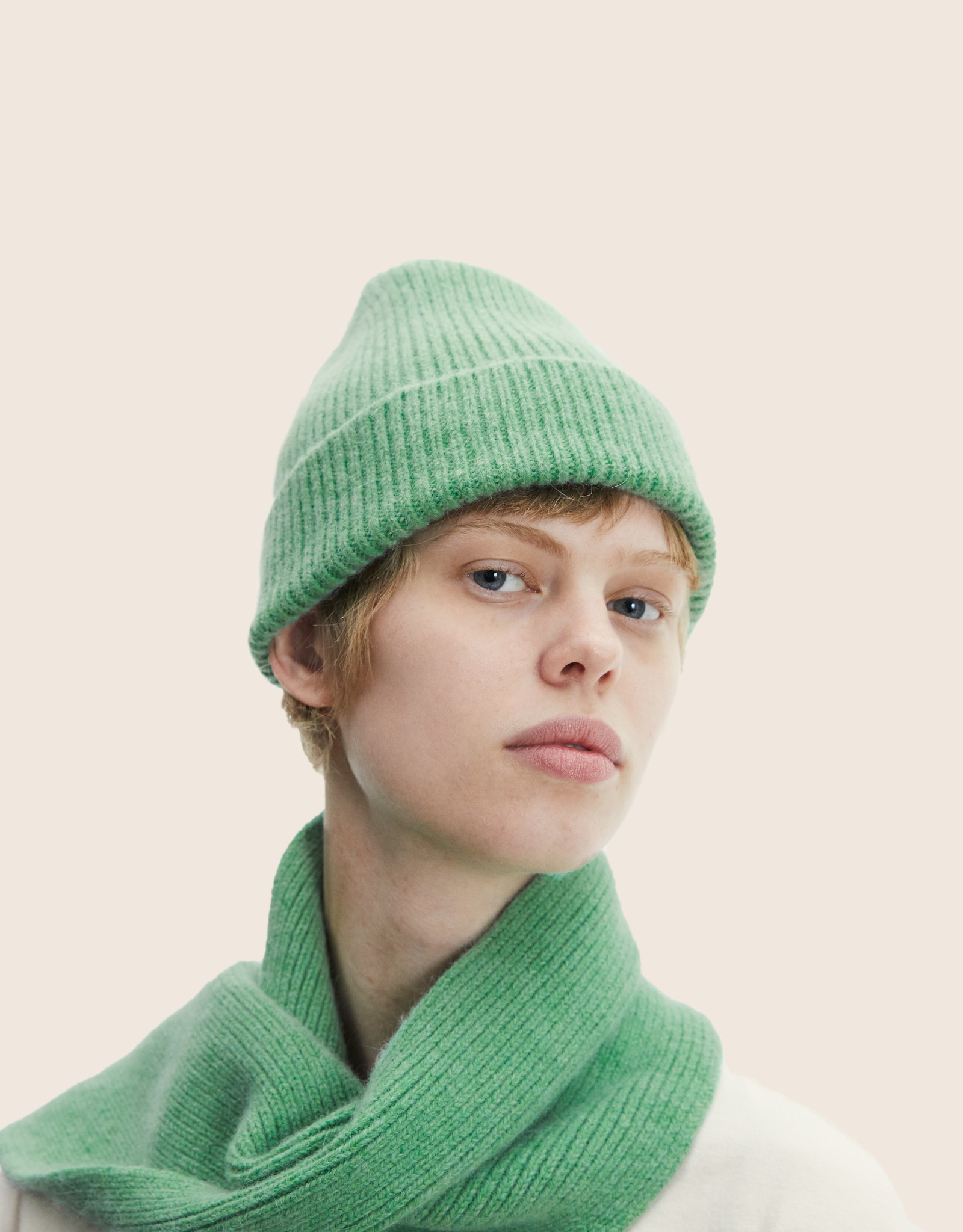 Le Bonnet Scarf Jade