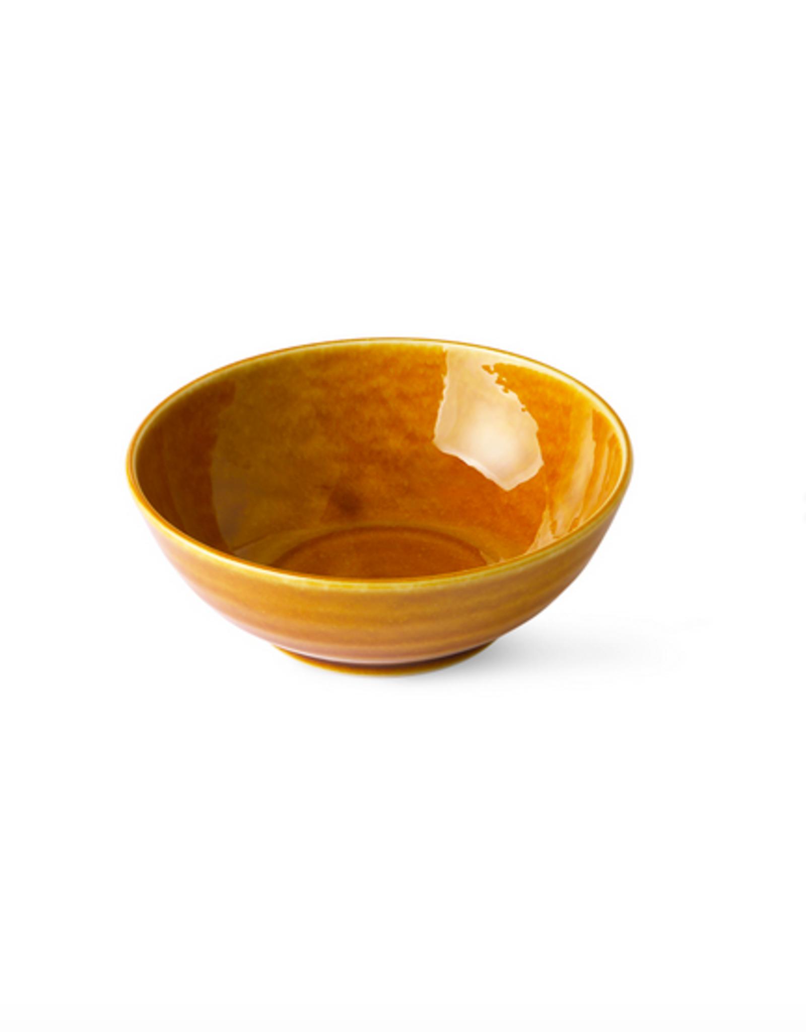 HK Living Japanese soup bowl brown