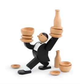 Kikkerland Stacking game - don't tip the Waiter game