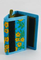 Baggu Nylon wallet blue calico floral