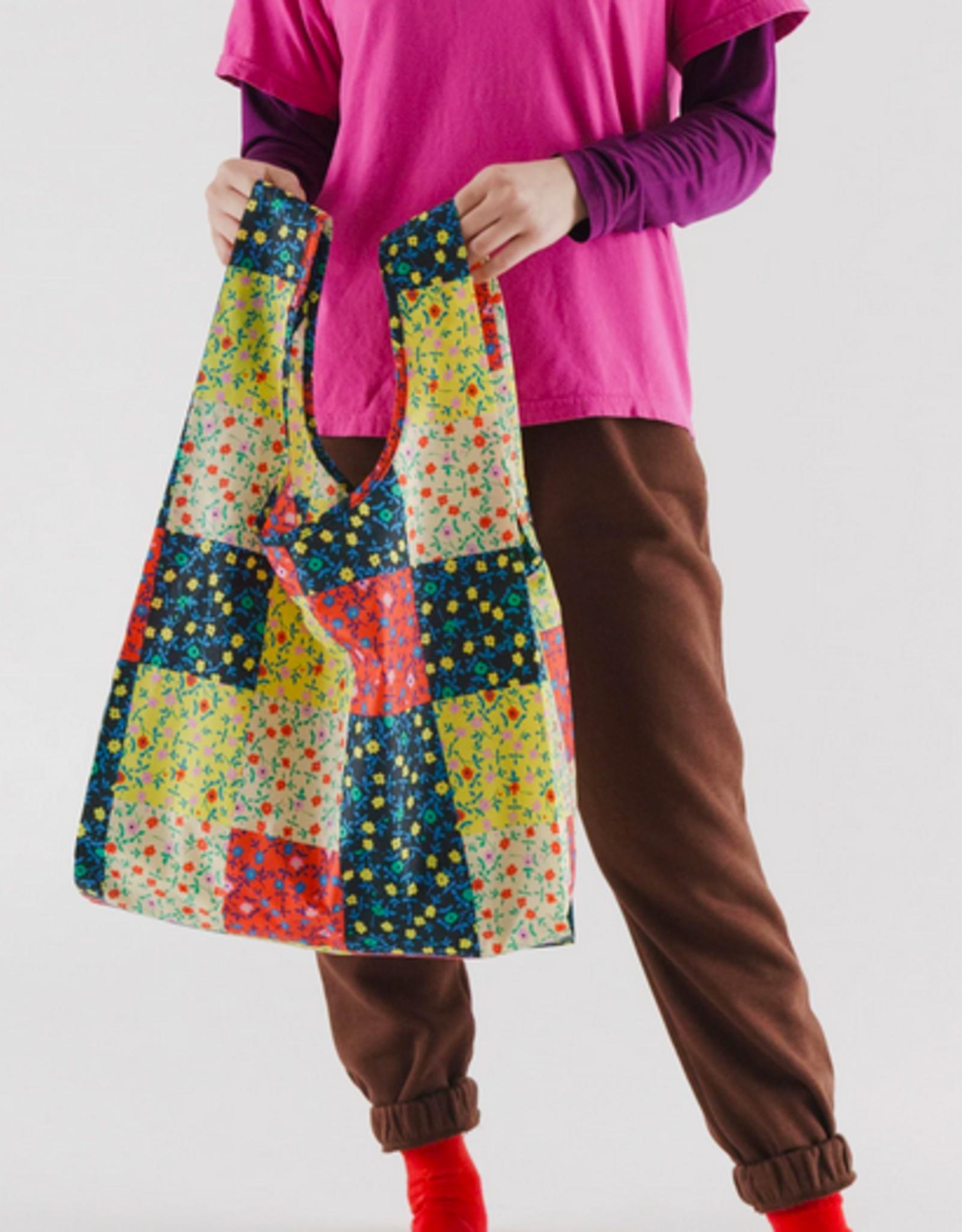 Baggu Standard reusable bag calico block