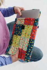Baggu Puffy laptop sleeve calico block 16 inch