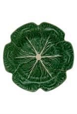 Bordalo Pinheiro Plate 30,5cm cabbage