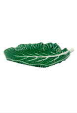 Bordalo Pinheiro Leaf plate 28cm cabbage