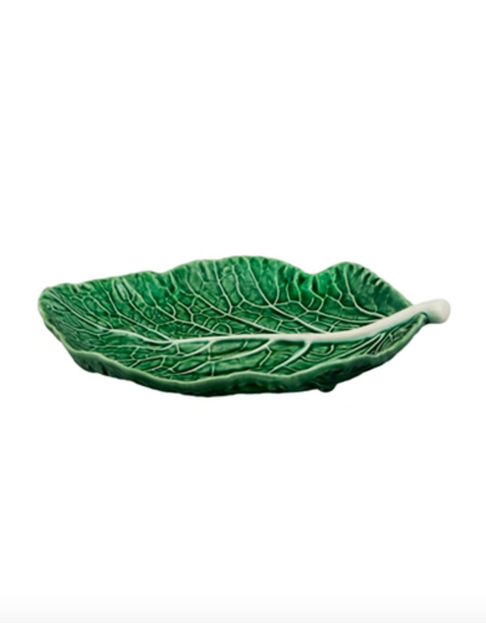 Bordalo Pinheiro Leaf plate 25cm cabbage