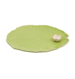 Bordalo Pinheiro Water lilly 23cm plate