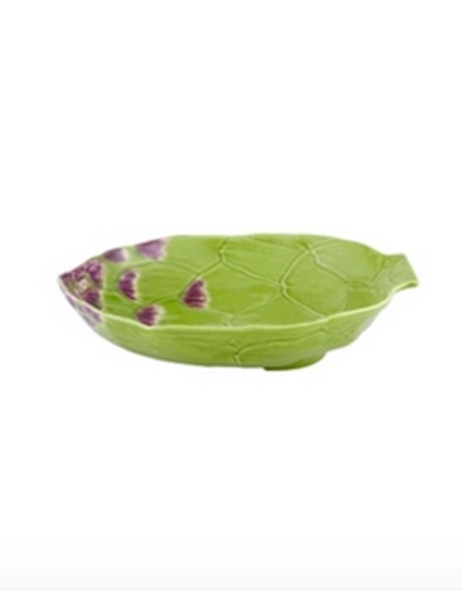 Bordalo Pinheiro Pasta plate 28cm Artichoke