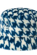 kangol Faux fur bucket hat blue m
