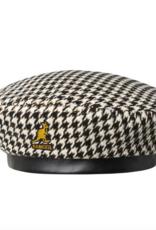 kangol Tooth grid beret hat black/white S/M
