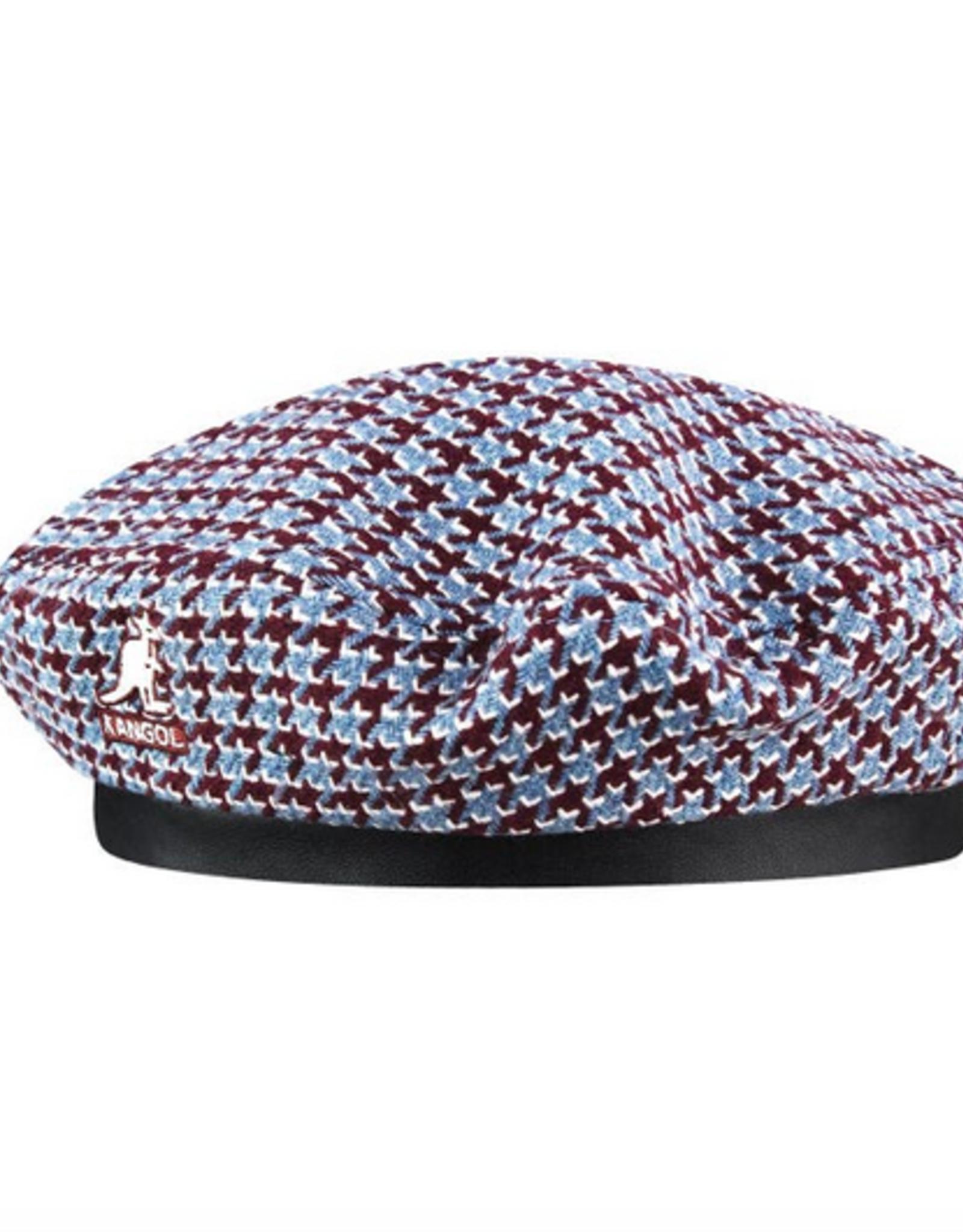 kangol Tooth grid beret blue S/M