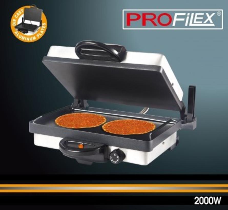 Profilex Tost & Multi Grill Apparaat RVS