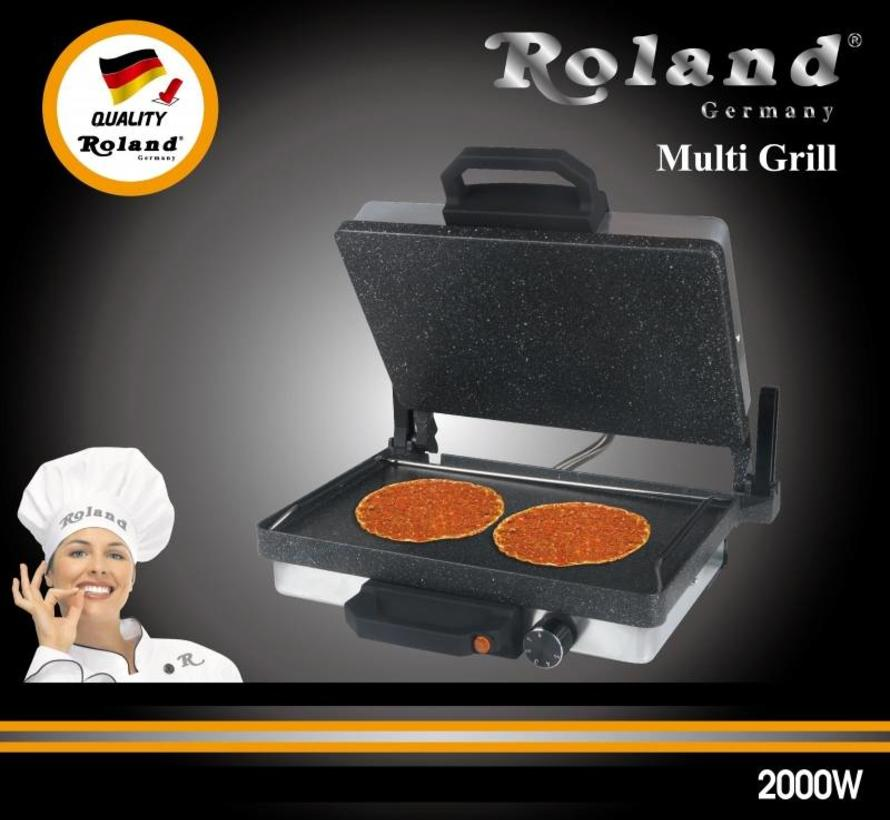 Roland Exclusive Graniet Grill Apparaat RVS
