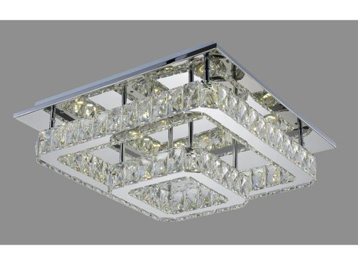 POWER LED 2-LAAGS BIG CRYSTAL VIERKANT