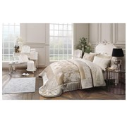 FRENCH HOME APRIL BEDSPREI SET CHAMPAGNE 9-DELIG