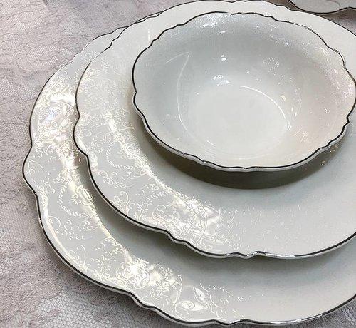 BRICARD PORCELAIN Bricard Porcelain Arras 6-Persoons   25-Delig Serviesset