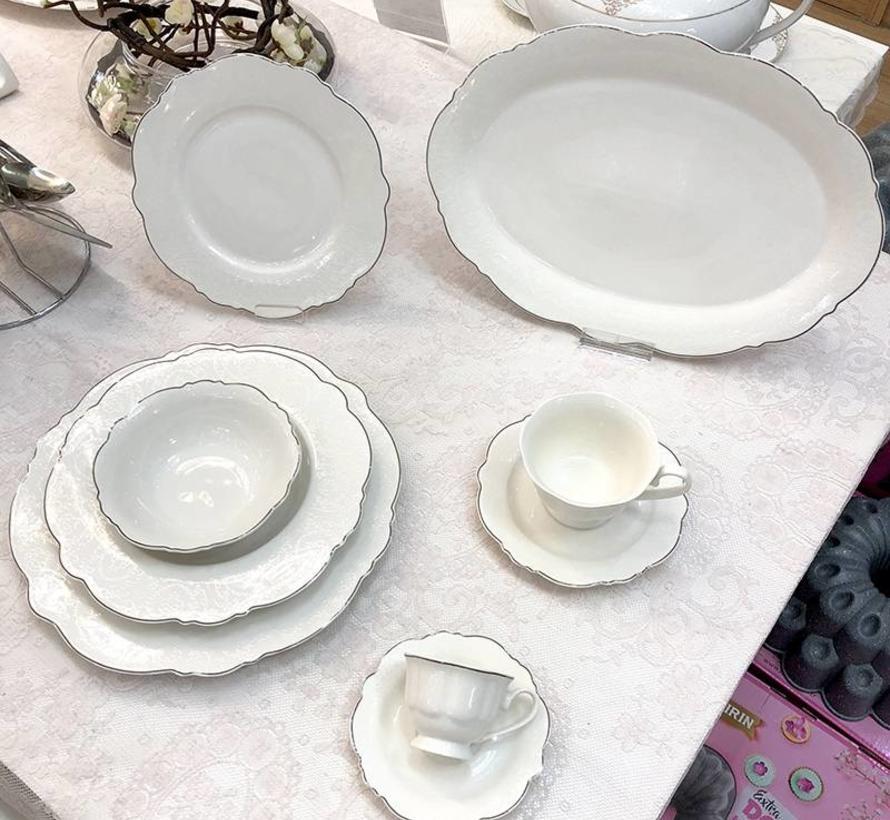 Bricard Porcelain Arras 6-Persoons   25-Delig Serviesset
