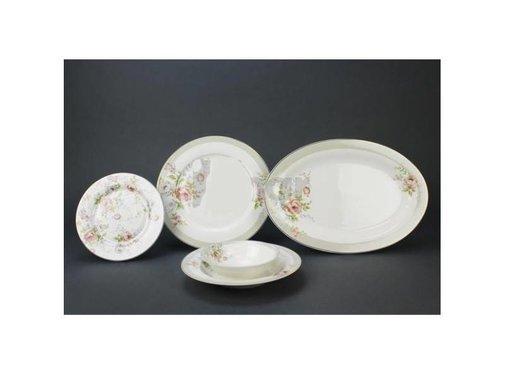 BRICARD PORCELAIN Bricard Porcelain Lafox 6-Persoons | 25-Delig Serviesset