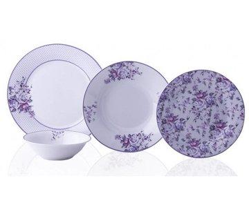 TAC TAC Ahenk Rose Purple 6-Persoons | 24-Delig Serviesset