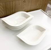 6-Delig Porselein Serveerschaal set 703