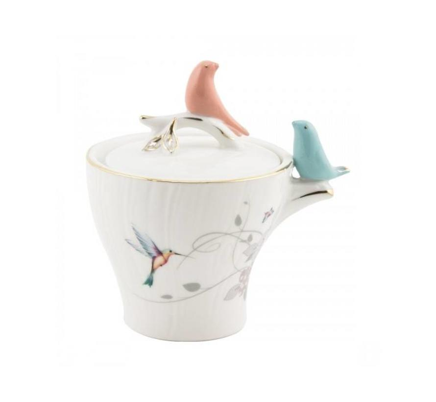 BRICARD BIRD ESPRESSO SET 6-DELIG
