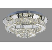 Power Led 2-Laags Big Crystal Rond DS004