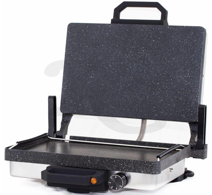 Roland Exclusive Graniet Grill Apparaat RVS