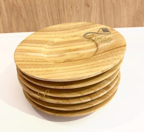 cinar bamboe 6-delige theeschotel