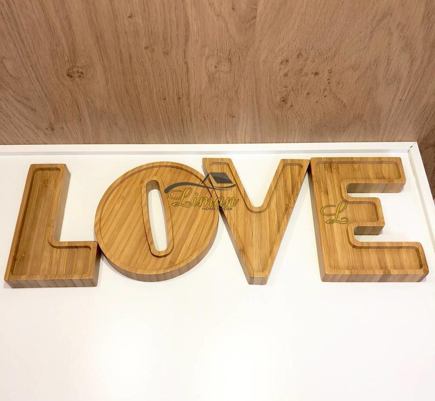 bamboe love schalenset