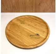 cinar bamboe serveerschaal rond 25 cm