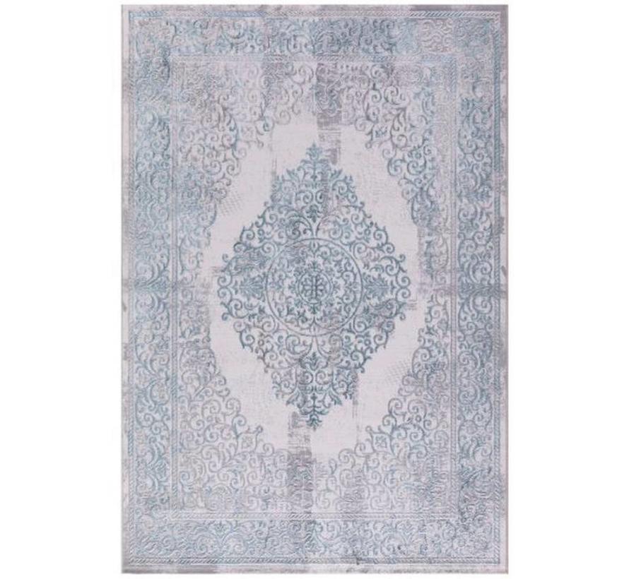 ATLANTIK HALI  PERA 7161 IVORY / BLUE