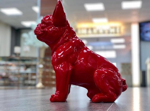 DECO PITBULL A258 RED
