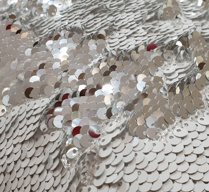 LAVELLA PAILLETTE SIERKUSSENS 35 x 35 cm GRIJS - WIT