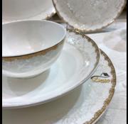 BRICARD PORCELAIN Bricard Porcelain  Troyes  6-Persoons | 25-Delig Serviesset