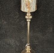 KANDELAAR GOUD-L 15x15x62.5 cm