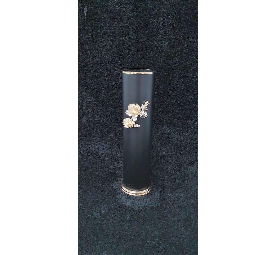KANDELAAR GOUD-M 12.5x12.5x41.5 cm