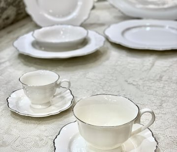 BRICARD PORCELAIN BRICARD Lecci Koffie & Thee set 12-Delig   6-Persoons