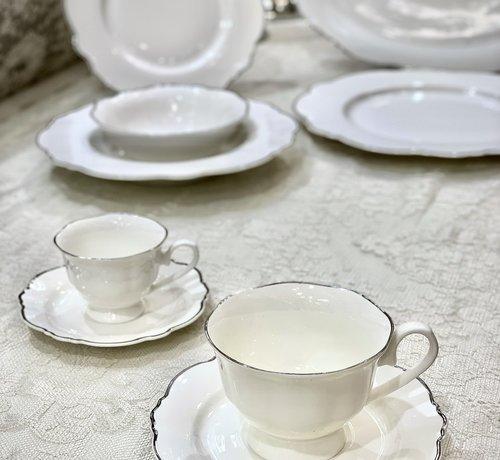 BRICARD PORCELAIN BRICARD LECCI KOFFIE & TEA SET 12-DELIG