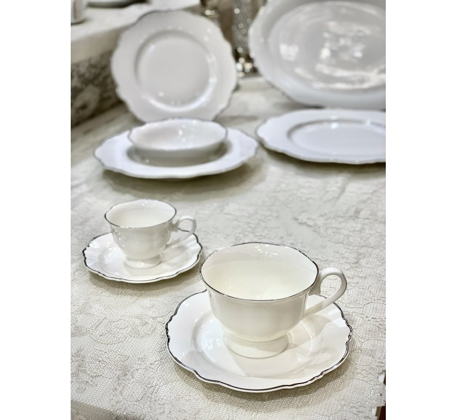 BRICARD Lecci Koffie & Thee set 12-Delig | 6-Persoons