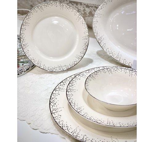 BRICARD PORCELAIN Bricard Porcelain Belval 6-Persoons | 25-Delig Serviesset