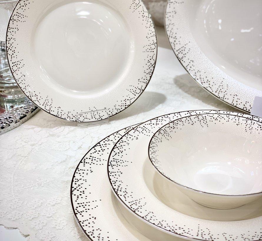 Bricard Porcelain Belval 6-Persoons | 25-Delig Serviesset