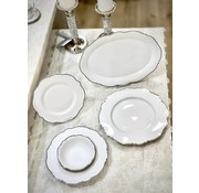 BRICARD PORCELAIN Bricard Porcelain Lecci 6-Kisilik | 25-parça Yemek Takımı