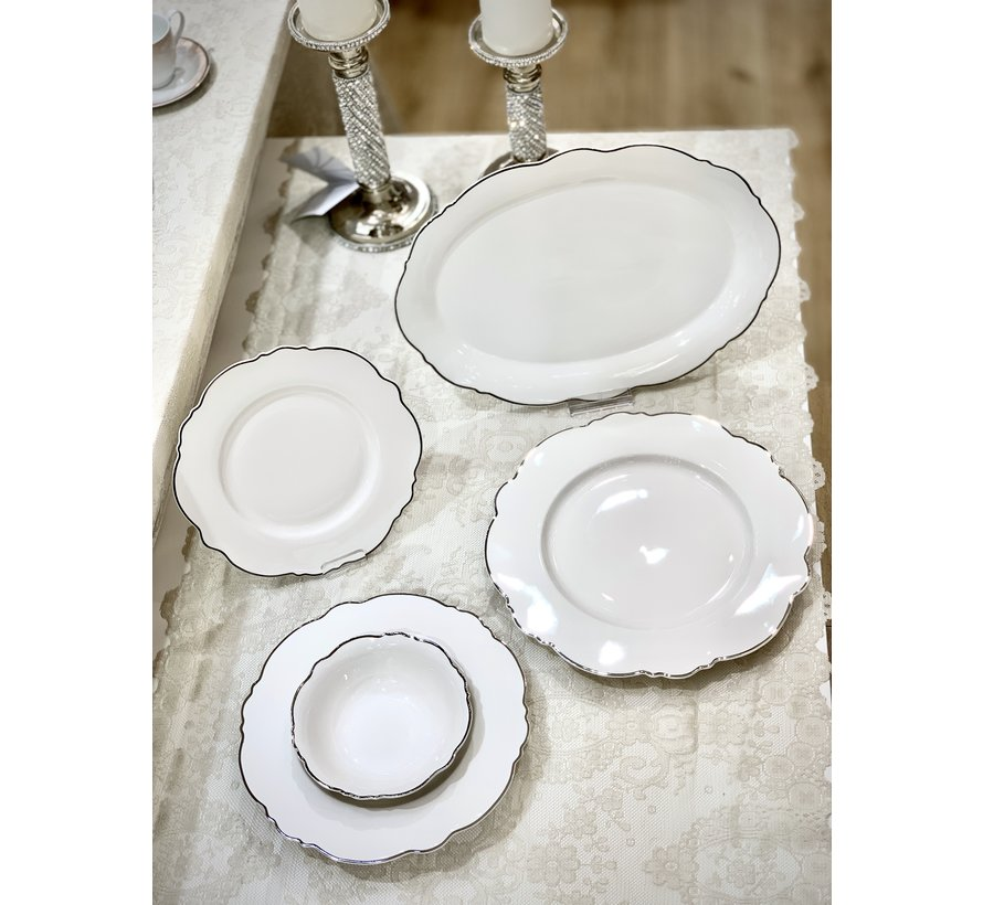 Bricard Porcelain Lecci 6-Persoons | 25-Delig Serviesset